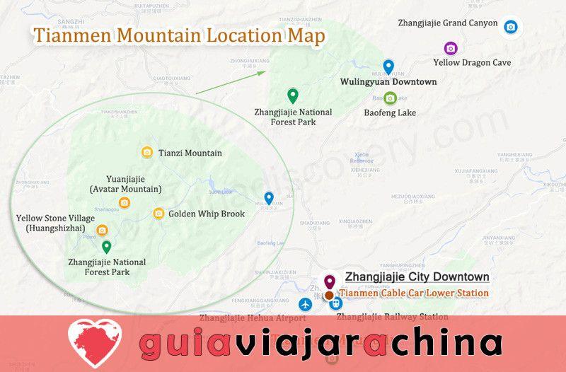 La Montaña de Tianmen - Símbolo y Espíritu de Zhangjiajie 8