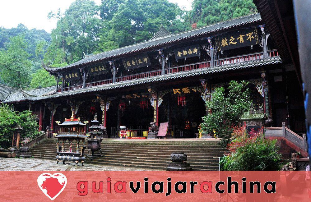 Monte Qingcheng - Famosa montaña taoísta en China 3
