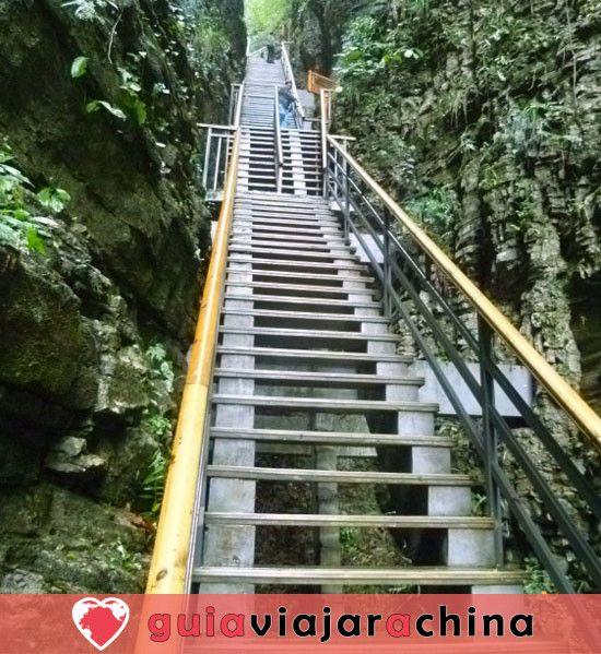 El Gran Cañón de Zhangjiajie - El puente de cristal más alto del mundo y el encantador país de las maravillas 3