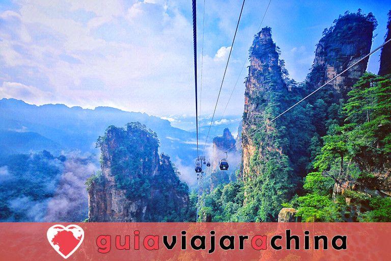 Montaña Tianzi - Vea los picos más impresionantes de la zona panorámica de Wulingyuan 5