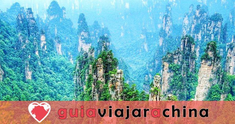 Montaña Tianzi - Vea los picos más impresionantes de la zona panorámica de Wulingyuan 1