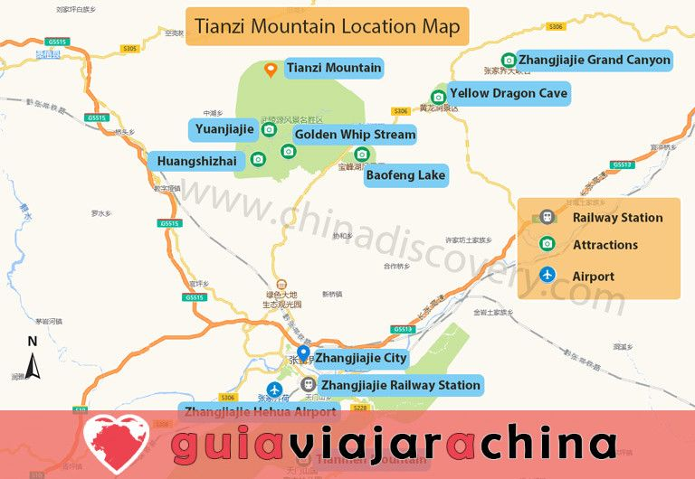 Montaña Tianzi - Vea los picos más impresionantes de la zona panorámica de Wulingyuan 12