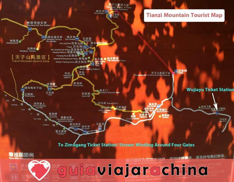 Montaña Tianzi - Vea los picos más impresionantes de la zona panorámica de Wulingyuan 8
