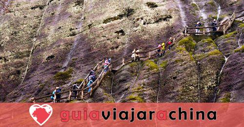 Montaña Wuyi (Wuyishan) - Paisaje pintoresco y la vieja cultura Fujian 10