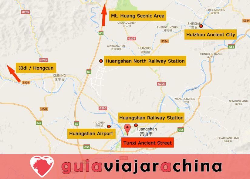"""Calle Antigua de Tunxi - Viviendo """"Escena de la ribera en el Festival Qingming"""". 8"""