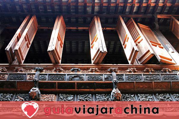 """Calle Antigua de Tunxi - Viviendo """"Escena de la ribera en el Festival Qingming"""". 4"""