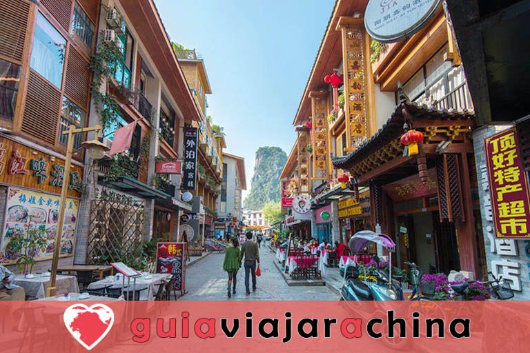 """West Street (Xijie) - Bienvenido a la """"Aldea Global"""" en Yangshuo, Guilin 2"""