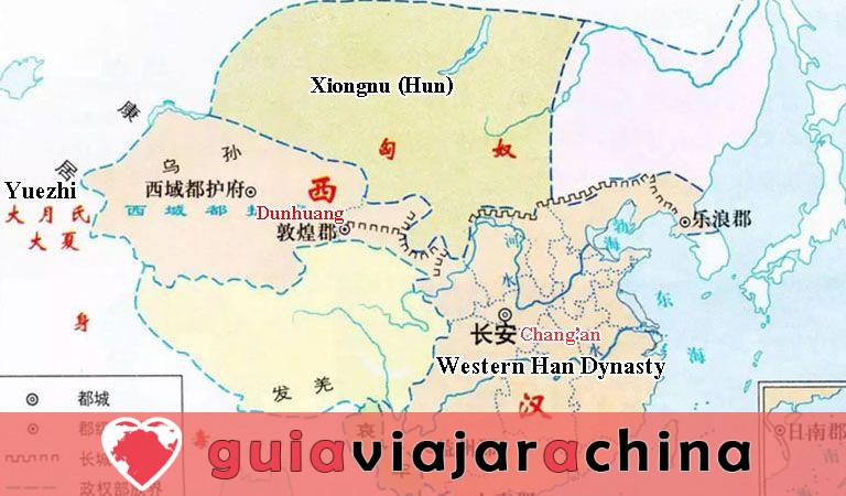Gran Muralla de Dunhuang de la dinastía Han - Antigua salvaguardia del noroeste de China y la Ruta de la Seda 3