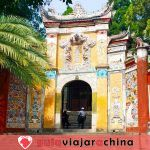 """Ciudad del Emperador Blanco - """"Ciudad de los Poemas"""" en el río Yangtsé"""