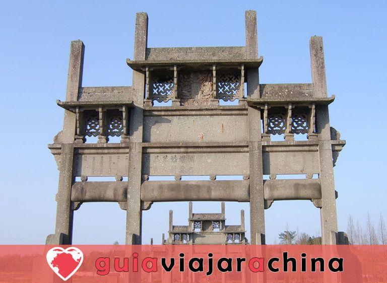 Arcos conmemorativos de Tangyue - El grupo de arcos más grande de China 6