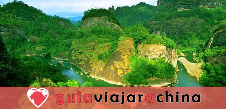 Montaña Wuyi (Wuyishan) - Paisaje pintoresco y la vieja cultura Fujian 1