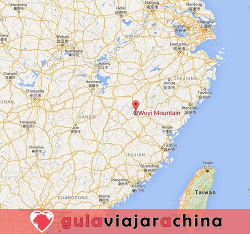 Montaña Wuyi (Wuyishan) - Paisaje pintoresco y la vieja cultura Fujian 15