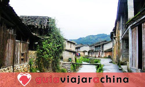 Montaña Wuyi (Wuyishan) - Paisaje pintoresco y la vieja cultura Fujian 12