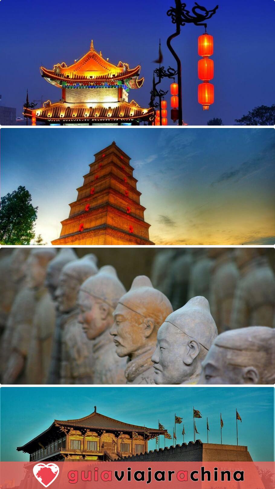 Torre de Tambor Xian - Edificio hermano de la Torre de Campana Xian 9