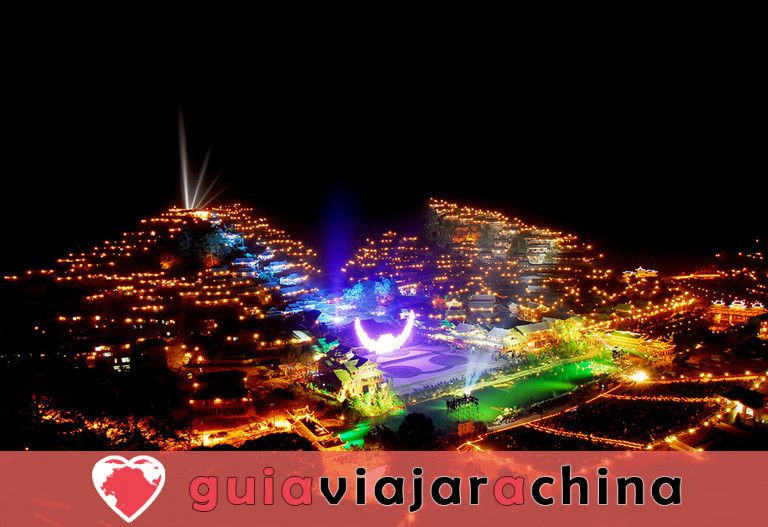 La aldea de la nacionalidad Xijiang Miao 3