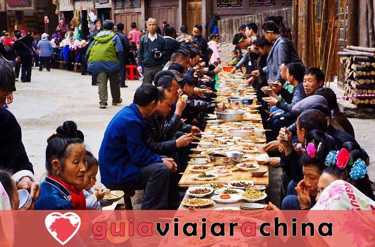 La aldea de la nacionalidad Xijiang Miao 6