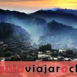 La aldea de la nacionalidad Xijiang Miao
