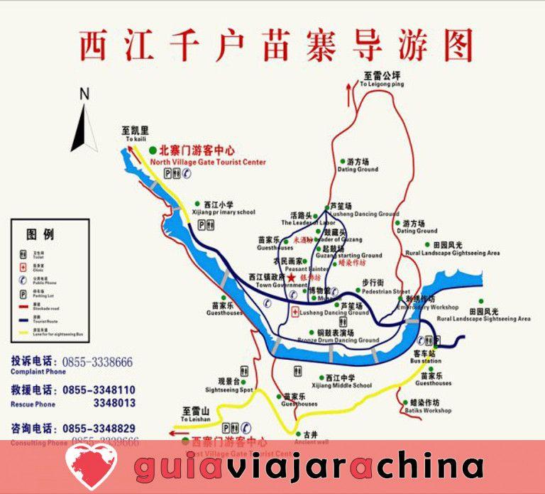 La aldea de la nacionalidad Xijiang Miao 8