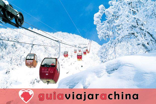 Xiling Snow Mountain - Paraíso para el esquí 5