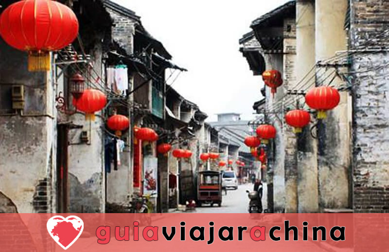 Pueblo antiguo de Xingping - Presidente del Pueblo de la Pesca 5