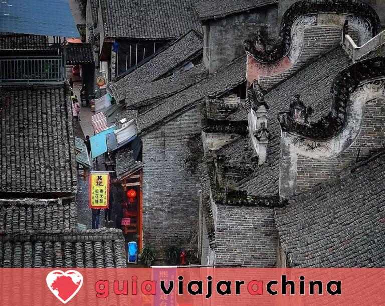 Pueblo antiguo de Xingping - Presidente del Pueblo de la Pesca 2