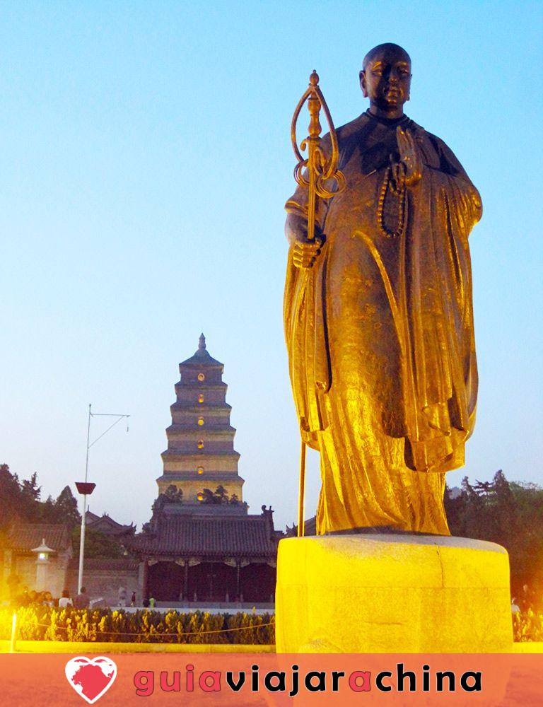 Pagoda del Ganso Silvestre Gigante - Patrimonio Cultural de la Humanidad en la Ruta de la Seda 2
