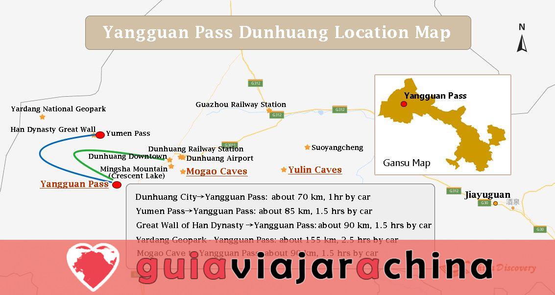 Paso de Yangguan - Puerta de las regiones occidentales y paso clave en la Ruta de la Seda del Sur 10