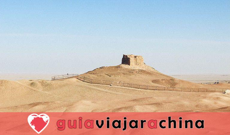 Gran Muralla de Dunhuang de la dinastía Han - Antigua salvaguardia del noroeste de China y la Ruta de la Seda 8