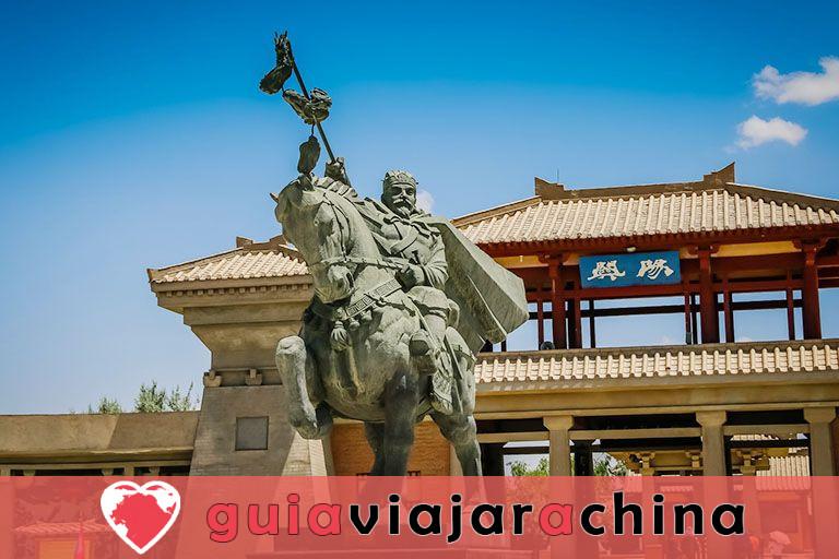 Paso de Yangguan - Puerta de las regiones occidentales y paso clave en la Ruta de la Seda del Sur 8