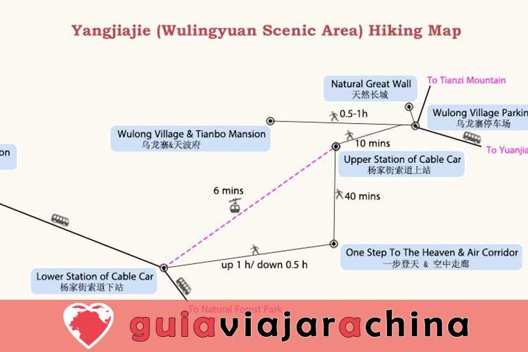 Yangjiajie - El paisaje más prístino del área escénica de Wulingyuan 9