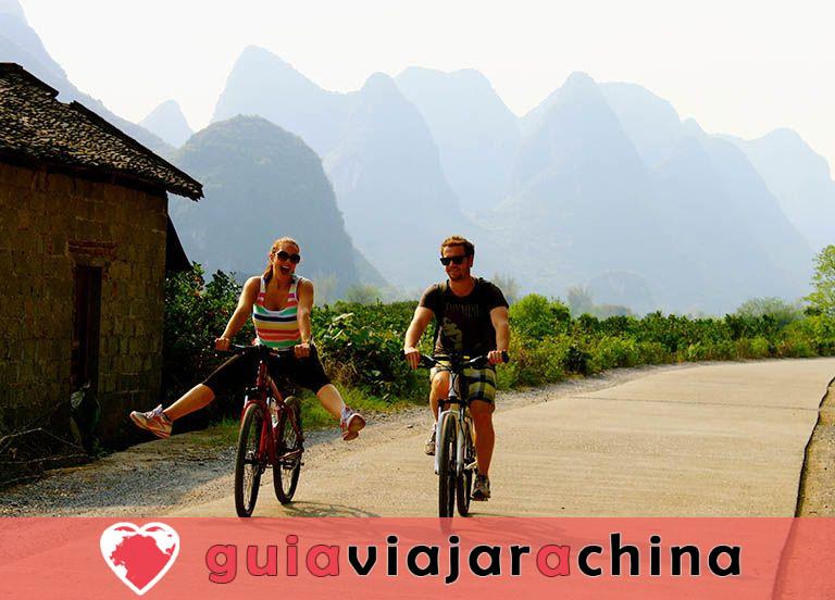 Yangshuo Biking Guide - Top Rutas y Mapas de Ciclismo, Alquiler de Bicicletas 5
