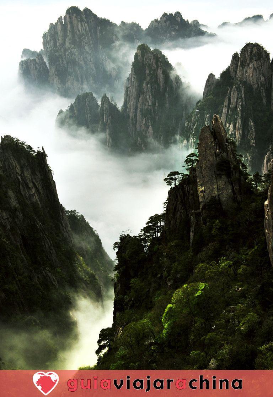 Huangshan(Montaña amarilla) - La montaña más bella de China 7