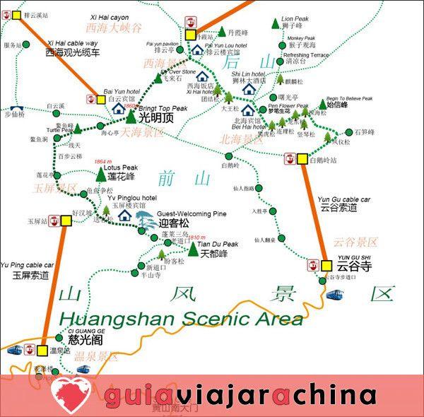Huangshan(Montaña amarilla) - La montaña más bella de China 17