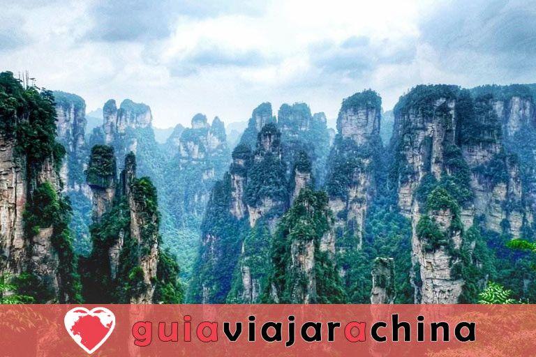 """Yuanjiajie - Busca el prototipo de """"Montañas del Aleluya del Avatar"""" 7"""