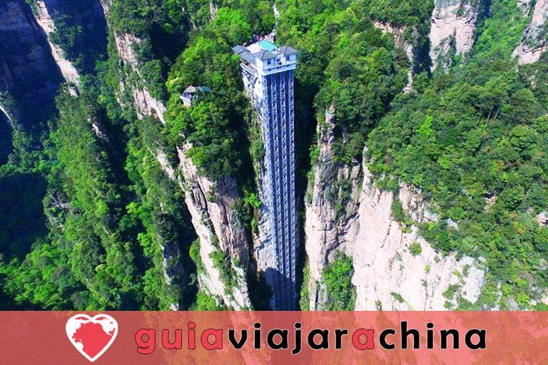 """Yuanjiajie - Busca el prototipo de """"Montañas del Aleluya del Avatar"""" 4"""
