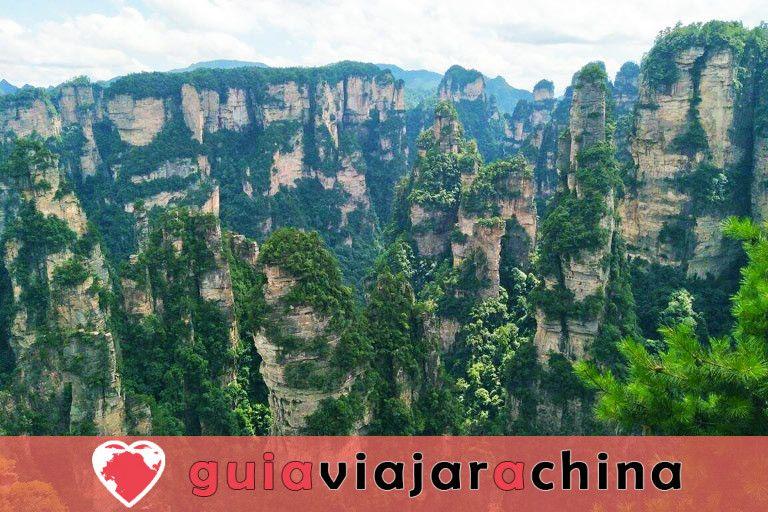 """Yuanjiajie - Busca el prototipo de """"Montañas del Aleluya del Avatar"""" 6"""