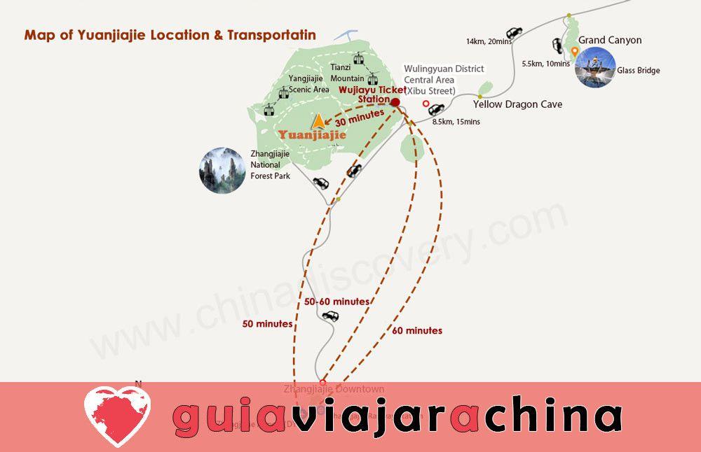 """Yuanjiajie - Busca el prototipo de """"Montañas del Aleluya del Avatar"""" 10"""
