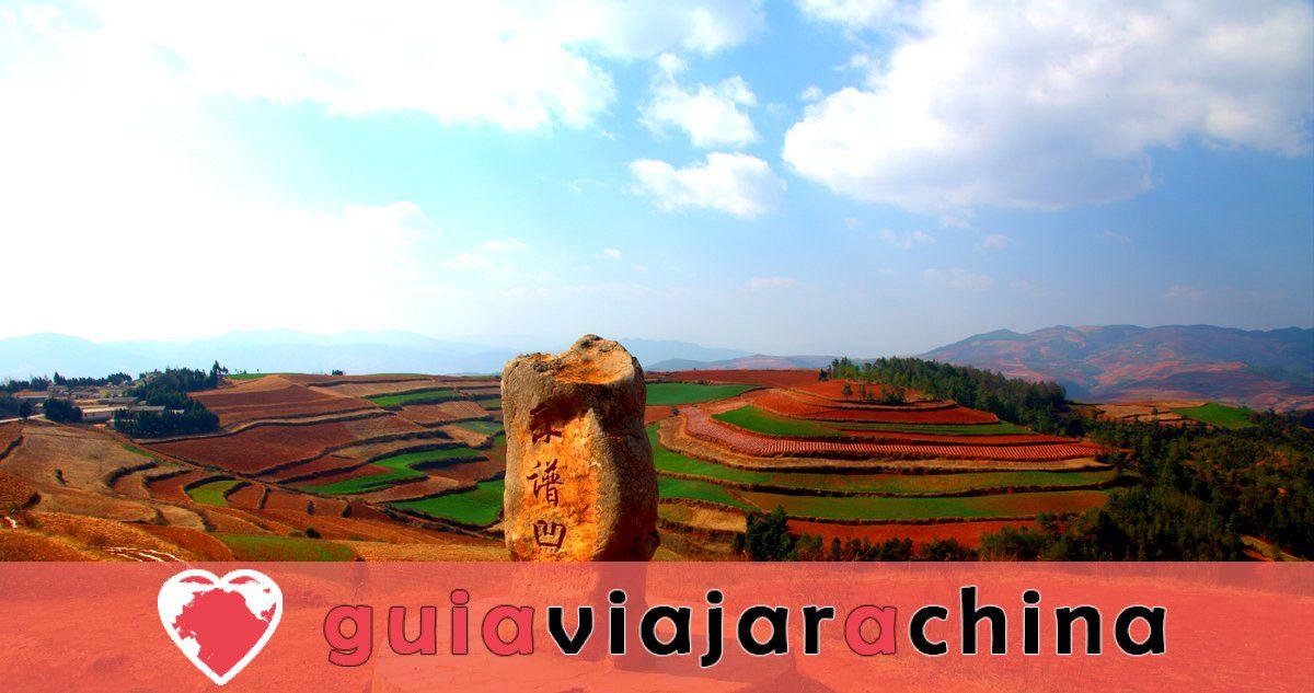 Tierra Roja de Dongchuan - Paleta Mágica de Dios 7