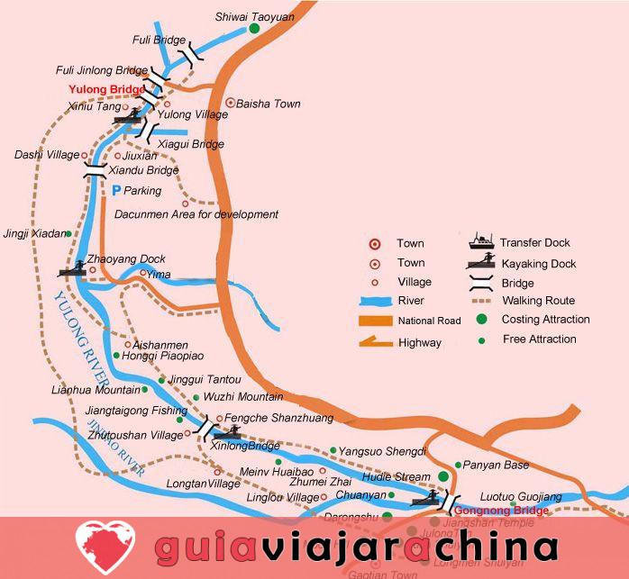 Senderismo y Caminata Yangshuo 1