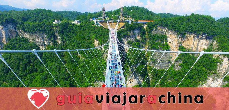 El Gran Cañón de Zhangjiajie - El puente de cristal más alto del mundo y el encantador país de las maravillas 1