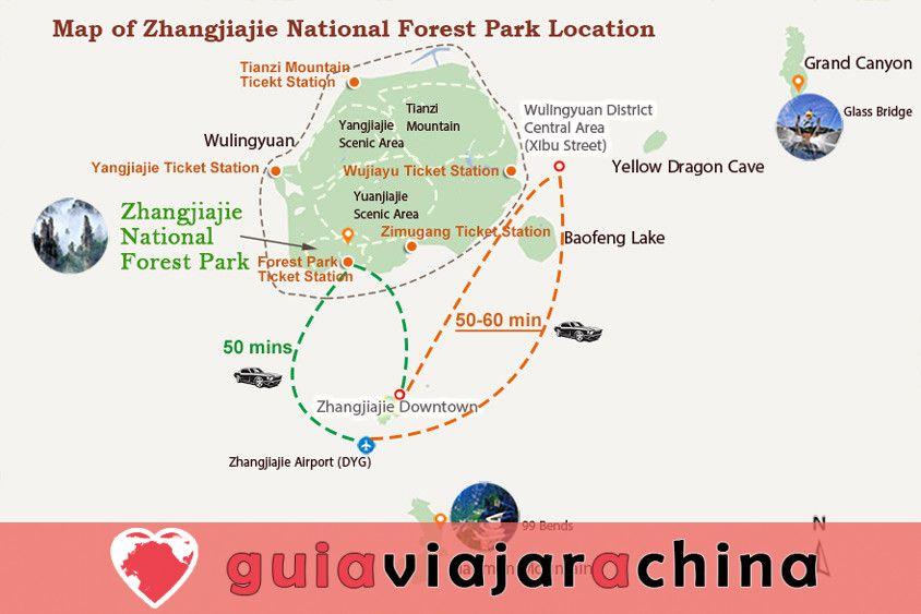 Guía para explorar las montañas Avatar en Zhangjiajie 4