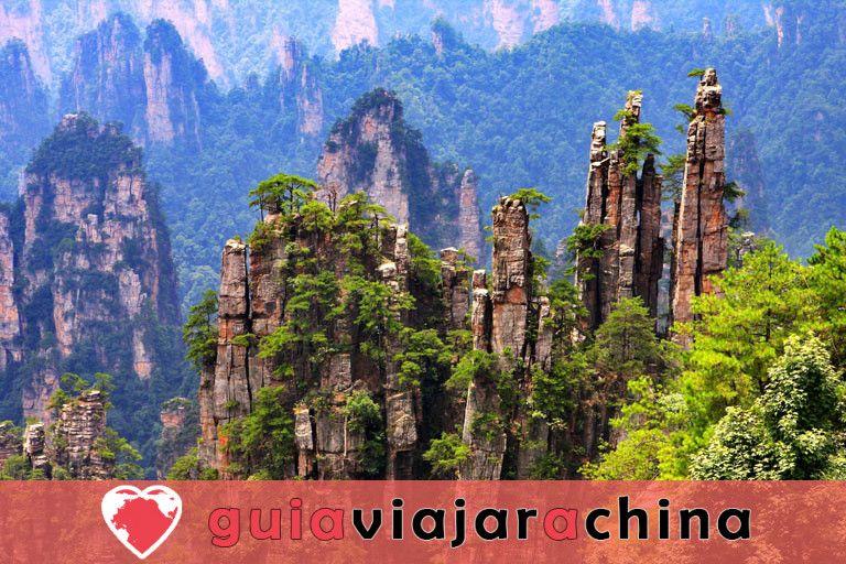 """Yuanjiajie - Busca el prototipo de """"Montañas del Aleluya del Avatar"""" 9"""